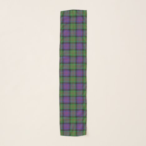 Scottish Clan MacDonald Donald Tartan Plaid Scarf