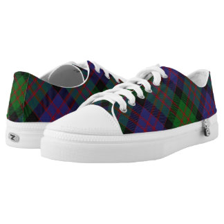 Scottish Clan MacDonald Donald Tartan Printed Shoes