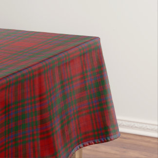 Scottish Clan MacDougall Tartan Tablecloth