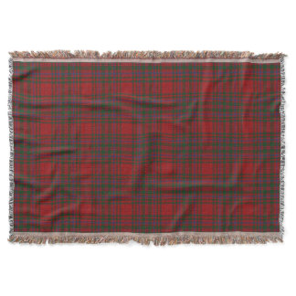 Scottish Clan MacDougall Tartan Throw Blanket