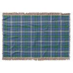 Scottish Clan MacDowall McDowell Tartan Throw