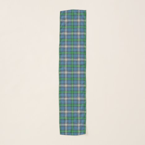 Scottish Clan MacDowall Tartan Plaid Scarf