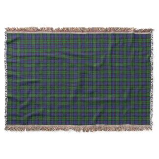 Scottish Clan MacEwen Ewen Tartan Throw Blanket