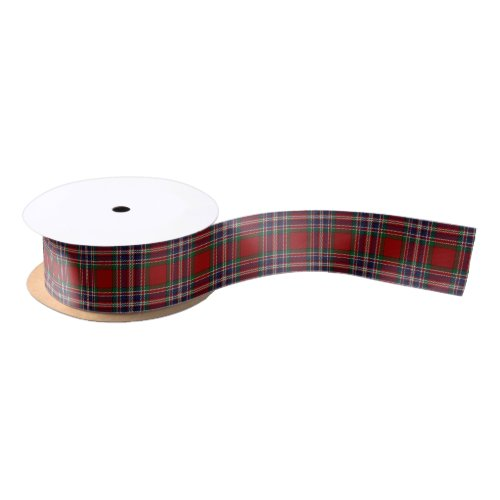 Scottish Clan MacFarlane Classic Tartan Satin Ribbon