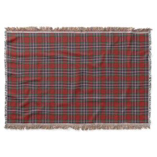 Scottish Clan MacFarlane Tartan Throw Blanket