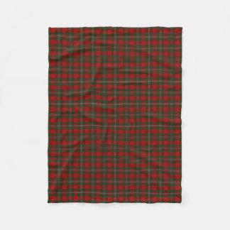 Scottish Clan MacGregor Gregor Classic Tartan Fleece Blanket