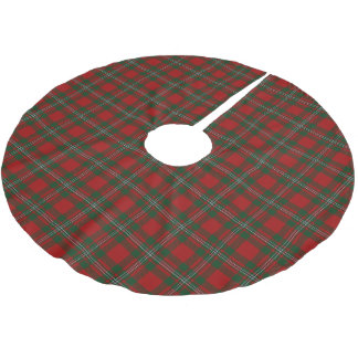 Scottish Clan MacGregor Gregor Tartan Brushed Polyester Tree Skirt