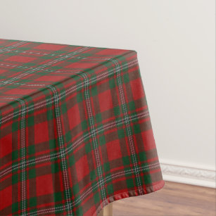 Scottish Clan MacGregor Tartan Tablecloth