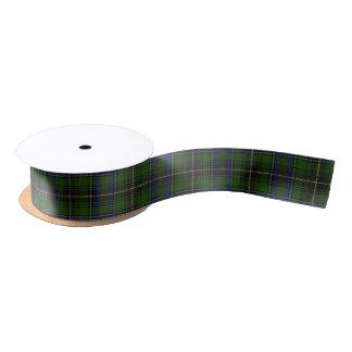Scottish Clan MacInnes Classic Tartan Satin Ribbon