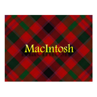 Scottish Clan MacIntosh Postcard