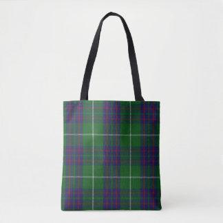 Scottish Clan MacIntyre Tartan Plaid Tote Bag