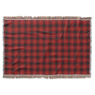 Scottish Clan MacIver MacIvor Tartan Throw Blanket