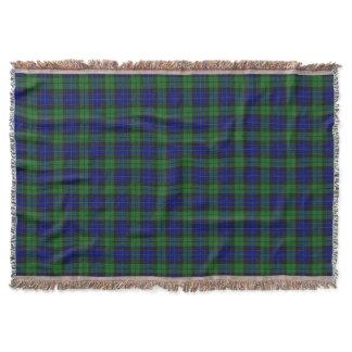 Scottish Clan MacKay Tartan Throw