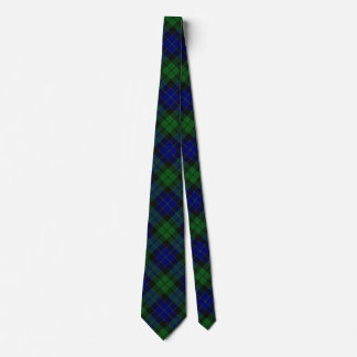 Scottish Clan MacKay Tartan Tie