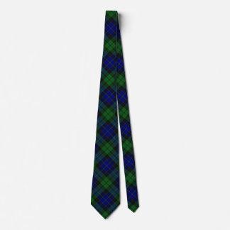 Scottish Clan MacKay Tartan Tie