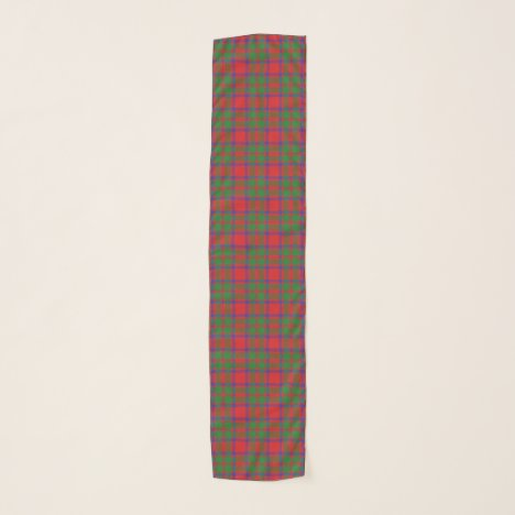 Scottish Clan MacKintosh Tartan Plaid Scarf