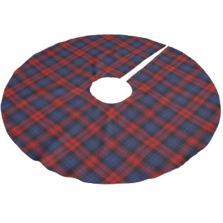 Scottish Clan MacLachlan Tartan Brushed Polyester Tree Skirt