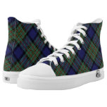 Scottish Clan MacLaren Tartan Plaid High-Top Sneakers