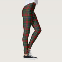 Scottish Clan MacLean Tartan Leggings