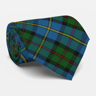 Scottish Clan MacLeod M Monogram Tartan Neck Tie