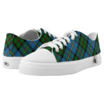 Scottish Clan MacLeod of Harris & Dunvegan Tartan Low-Top Sneakers