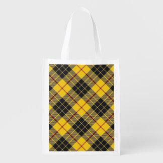 Scottish Clan MacLeod of Lewis Family Tartan Grocery Bag