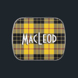"""Scottish Clan MacLeod of Lewis Tartan Jelly Belly Candy Tin<br><div class=""""desc"""">Awesome little tin featuring the tartan plaid of the Scottish Clan MacLeod of Lewis</div>"""