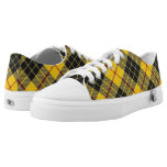 Scottish Clan MacLeod of Lewis Tartan Low-Top Sneakers