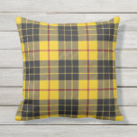 Scottish Clan MacLeod of Lewis Tartan Outdoor Pillow