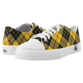 Scottish Clan MacLeod of Lewis Tartan Printed Shoes