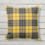 Scottish Clan MacLeod of Lewis Tartan Throw Pillow
