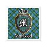 Scottish Clan MacLeod Tartan Napkin