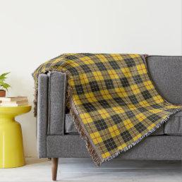 Scottish Clan MacLeod Tartan Plaid Throw Blanket
