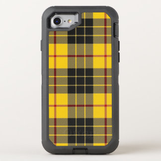 Scottish Clan MacLeod Yellow and Black Tartan OtterBox Defender iPhone 7 Case
