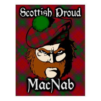 Scottish Clan MacNab Tartan Postcard