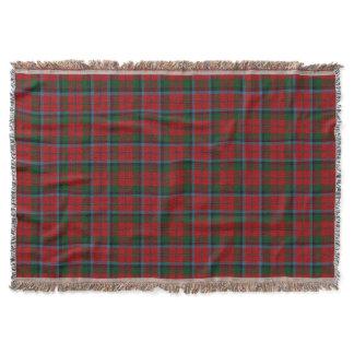Scottish Clan MacNachtan McNaughton Tartan Throw