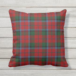 Scottish Clan MacNachtan Tartan Outdoor Pillow