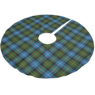 Scottish Clan MacNeil Blue Green Tartan Brushed Polyester Tree Skirt