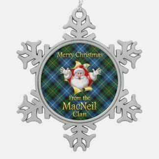 Scottish Clan MacNeil Christmas Ornament