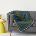 Scottish Clan MacNeil Tartan Throw Blanket