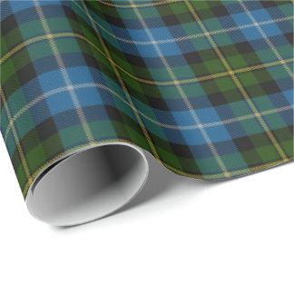 Scottish Clan MacNeil Tartan Wrapping Paper