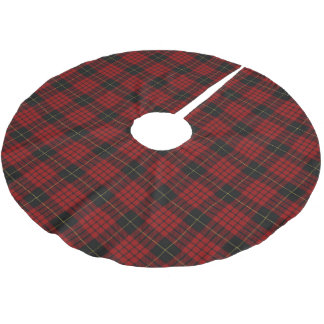 Scottish Clan MacQueen Tartan Brushed Polyester Tree Skirt