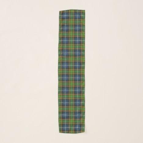 Scottish Clan MacRae Hunting Tartan Plaid Scarf