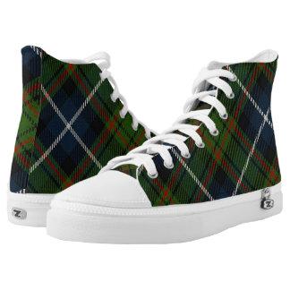 Scottish Clan MacRae Hunting Tartan Printed Shoes