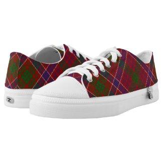 Scottish Clan MacRae Red Tartan