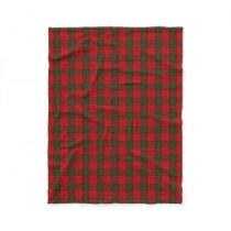 Scottish Clan Maxwell Classic Tartan Fleece Blanket