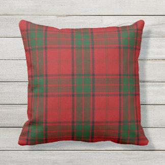 Scottish Clan Maxwell Tartan Outdoor Pillow