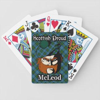 Scottish Clan McLeod Tartan Bicycle Playing Cards