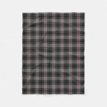 Scottish Clan Moffat Classic Tartan Fleece Blanket