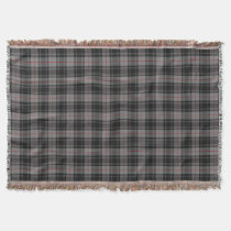 Scottish Clan Moffat Tartan Throw Blanket
